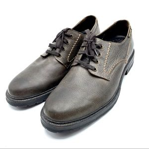 Mephisto Leather Lace-Up Oxford